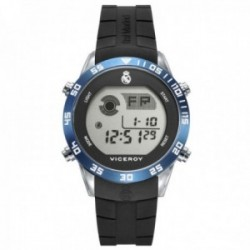 Reloj Viceroy Real Madrid 41107-50 niño digital acero inoxidable negro bisel azul