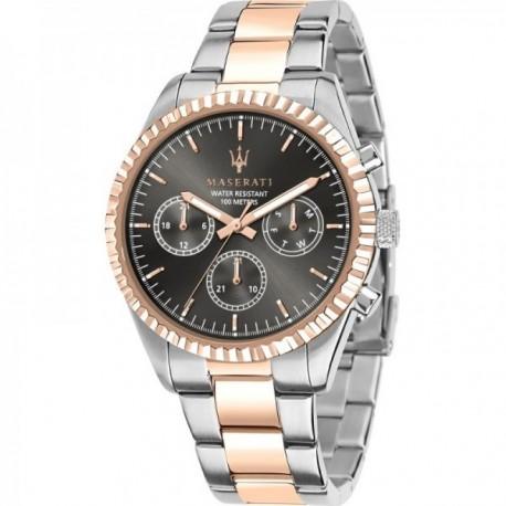 Reloj Maserati hombre R8853100020 Competizione multifunción acero inoxidable bicolor