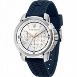 Reloj Maserati hombre R8871621013 Successo acero inoxidable multifunción correa dibujo neumático