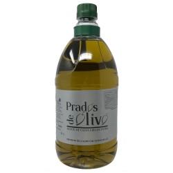 Aceite de oliva virgen extra Prados de Olivo garrafa 2 litros envase plástico