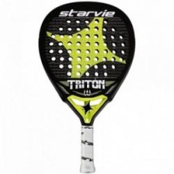 Pala pádel Star Vie Triton. Goma EVA Soft. Núcleo y estructura: 100% carbono. Peso: 363grs..