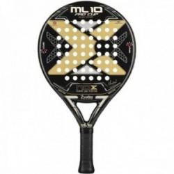 Pala pádel Nox ML10 Pro Cup Black Edition. Núcleo: HR3. Marco: 100% carbono. Peso: 366grs. Nivel avanzado.