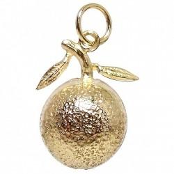 Colgante Gold Filled media naranja amor [2560]