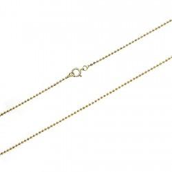 Cadena Gold Filled 14k/20 bola 1mm. 40-60 cm. [5734]