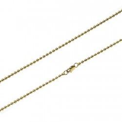 CCadena Gold Filled 14k/20 50cm. bola lisa 2,40mm. [5736]