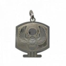 Colgante plata Ley 925m escarabajo egipcio 25mm. suerte unisex