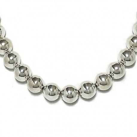1dd51ea233b9 Gargantilla collar plata ley 925um bola 14 42cm.  1731