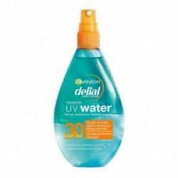 Garnier Delial UV Water Spray Protector Solar Transparente Alta Protección Cuerpo Rostro IP30 150ml
