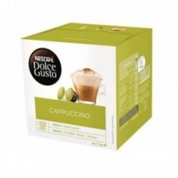 Nescafé Dolce Gusto Café Cappuccino - 16 Cápsulas de Café 8 bebidas