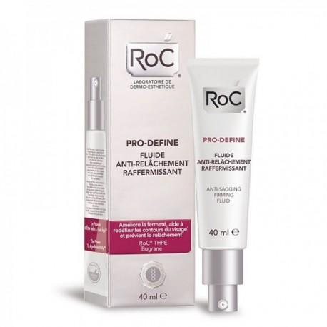 ROC Pro Define - Fluido Anti Flacidez, Reafirmante, 40 ml