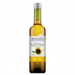 Aceite de girasol virgen BIO PLANETE ecológico vegano 0.5 litros