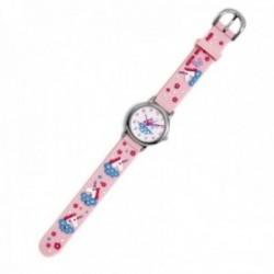 Reloj Agatha Ruiz de la Prada AGR293 colección Fantasía niña rosa unicornios silicona relieve