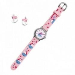 Conjunto Agatha Ruiz de la Prada AGR297 colección Fantasía niña unicornios reloj pendientes plata