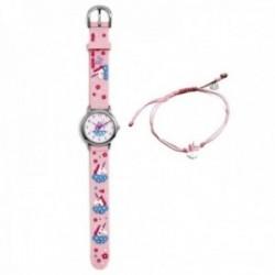 Conjunto Agatha Ruiz de la Prada AGR305 colección Fantasía niña unicornio reloj pulsera plata cuerda