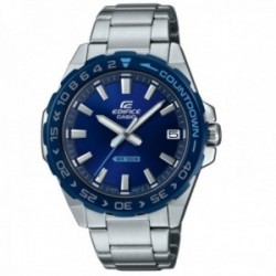 Reloj Casio Edifice hombre EFV-120DB-2AVUEF Classic Collection acero inoxidable azul plateado