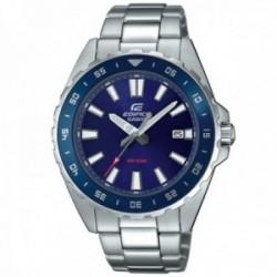 Reloj Casio Edifice hombre EFV-130D-2AVUEF acero inoxidable esfera azul