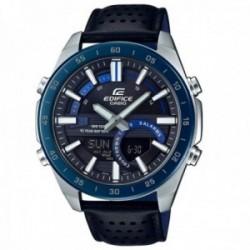 Reloj Casio Edifice hombre ERA-120BL-2AVEF Classic Collection analógico digital acero inox. piel