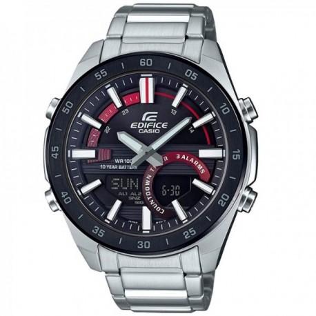 Reloj Casio Edifice Hombre ERA-120DB-1AVEF Classic Collection analógico digital acero inoxidable