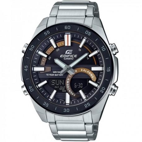 Reloj Casio Edifice Hombre ERA-120DB-1BVEF Classic Collection analógico digital acero inoxidable