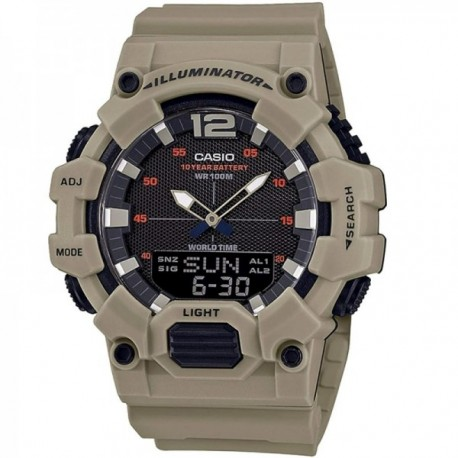 Reloj Casio Collection hombre HDC-700-3A3VEF resina analógico digital verde