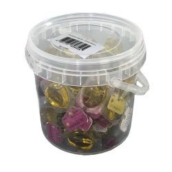 Monodosis aceite de oliva virgen extra tarrina 60 unidades 12 ml. Prados de Olivo envase plástico