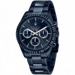 Reloj Maserati hombre R8853100025 edición limitada Blue Edition multifunción acero inoxidable