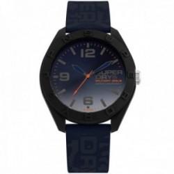Reloj Superdry SYG242U Osaka Camo silicona camuflaje azul marino