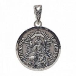 Medalla plata Ley 925m Virgen de Belén de Palma del Río 19mm. maciza unisex