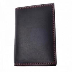 Libreta tarjetero Pierre Cardin piel negra 11cm. bolígrafo plateado accesorios smartphone