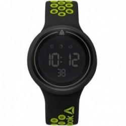 Reloj Reebok hombre RD-DUR-G9-PBIB-BY Durante digital negro detalles verdes