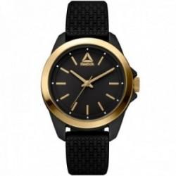 Reloj Reebok mujer RD-PRI-L2-PBIB-B2 Prisma negro detalles dorados