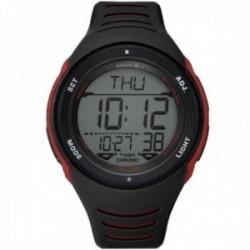 Reloj Reebok hombre RD-VER-G9-PBPB-BR Vertex Collection digital negro rojo