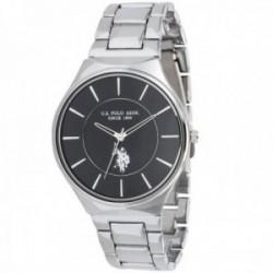 Reloj U.S. Polo Assn. hombre USP4697BK Phenix Collection acero inoxidable