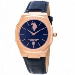 Reloj U.S. Polo Assn. hombre USP4736BL Osman Collection piel acero inoxidable