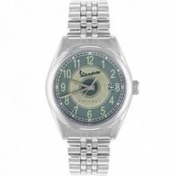Reloj Vespa hombre VA-HE03-SS-05GR-GCM Heritage Three Hands acero inoxidable