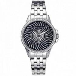 Reloj Viceroy mujer 40830-50 acero inoxidable bisel esfera piedras blancas