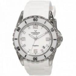 Reloj Viceroy mujer 47564-05 cerámica acero inoxidable blanco