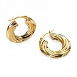 Pendientes Viceroy B1043E000-06 Bijoux metal dorado hipoalergénico aros cierre palillo