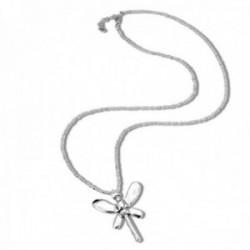 Collar Unode50 All of Me COL1513MTL0000U colección Metamorphosis metal chapado plata mariposa