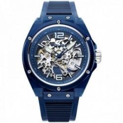 Reloj Police hombre PL.15924JPBL-48P Translucent Urban Auto azul automático