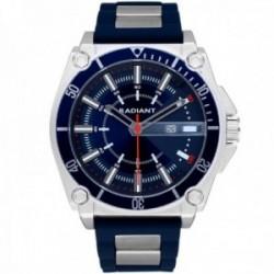 Reloj Radiant hombre RA552602 Mr. Robot azul silicona