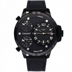 Reloj Radiant hombre RA551601 Papy negro multihorarios