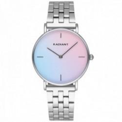 Reloj Radiant mujer RA549201 Pacific Blue Degrade correa acero inoxidable