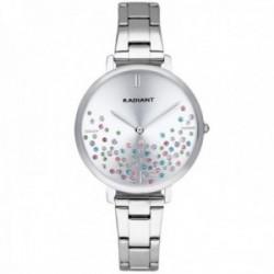Reloj Radiant mujer RA525202 Ella esfera piedras colores correa acero inoxidable