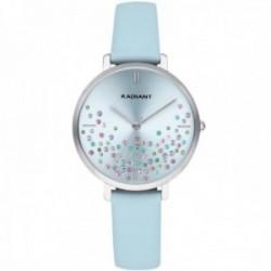 Reloj Radiant mujer RA525607 Ella esfera piedras colores correa azul