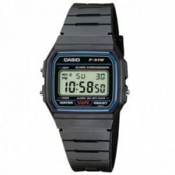 Reloj Casio F-91W-1YER Vintage digital deportivo negro