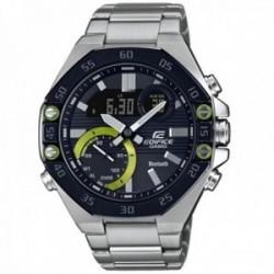 Reloj Casio Edifice hombre ECB-10DB-1AEF Bluetooth Smart acero inoxidable bisel acabado IP gris