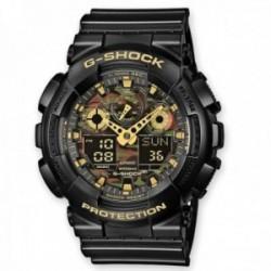 Reloj Casio hombre GA-100CF-1A9ER G-Shock Classic analógico digital esfera camuflaje