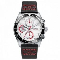 Reloj Viceroy niño 46791-07 colección Next multifunción remates rojos acero inoxidable