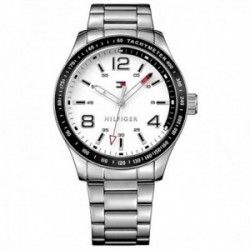 Reloj Tommy Hilfiger hombre 1791177Essentials acero inoxidable esfera logo detalles